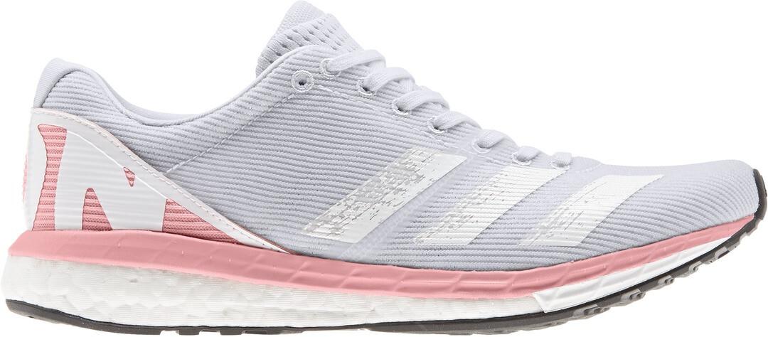 adidas Adizero Boston 8 Shoes Women dash grey/footwear white/glory pink